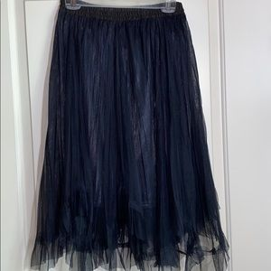 Oz Collection Med multi-layer asymmetrical skirt